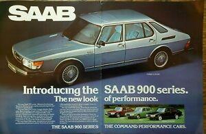 1979 Saab 900 Series EMS GLE Turbo 3-Door Performance Car Vintage Photo Print Ad