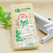 Apaisant de bâton de cocktail de cure-dents en bambou de sac jetable 9H