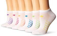 New Balance No Show Socks (6 Pack), Aster, Men's 7.5-9/Women's 6-10
