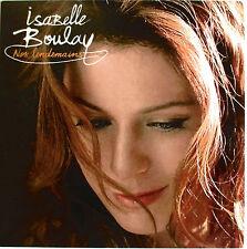 "ISABELLE BOULAY - CD PROMO 13 TITRES ""NOS LENDEMAINS"""