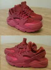 Nike Women's Shoes Air Huarache 2018 Red Athletic Lace Up 634835-601 Sz 7