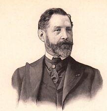 Portrait Jules Girardet Versailles Peintre Illustrateur