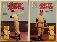 Mickey mantle polybagged set:#1+2 8.0 VF (1991)