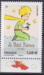 France 2021 Literature, Little Prince, Antoine de Saint-Exupery MNH**