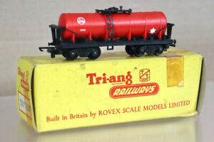 TRIANG T272 TT GAUGE BR ICI CAUSTIC BOGIE TANK WAGON 355 BOXED