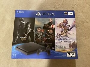 Playstation 4 1TB Bundle Last of Us, God of War, Horizon