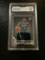 2019-20 Panini Clearly Donruss Zion Williamson Rated Rookie Acetate GMA10 HOT Z!