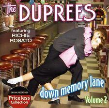 The Duprees - Down Memory Lane 2 [New CD]