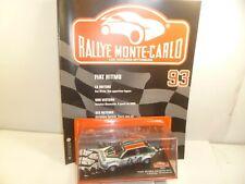 1/43  IXO  rally monte-carlo FIAT RITMO    / AVEC FASCICULE ET HISTOIRE