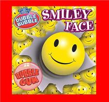 """Dubble Bubble Smiley Face 1"""" Gumballs  850 Count Candy Vending"""