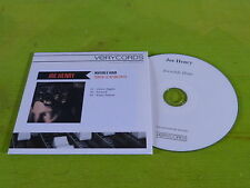 JOE HENRY - INVISIBLE HOUR  !!!! FRENCH PROMO CD!!!!!!!