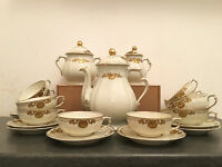 Service à Café ou à Thé porcelaine de Limoges Bernardaud & Cie