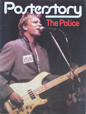 POSTERSTORY 9 1980 Police - Sting Andy Summers Stewart Copeland