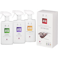 Autoglym Perfect Interior Collection Gift Kit Interior Shampoo Fast Glass Vinyl