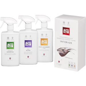 Autoglym Perfect Interior Collection Gift Kit Interior Shampoo Fast Glass Vinyl