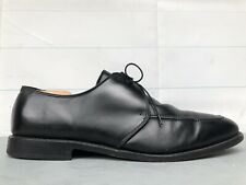 Allen Edmonds Slayton Black Men's 14 D Leather USA Oxfords Apron Toe Dress Shoes