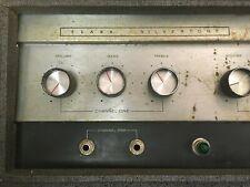 SEARS SILVERTONE 1484 TWIN TWELVE TUBE GUITAR AMP AMPLIFIER HEAD MODDED