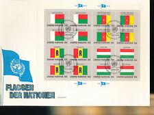 585329 / UNO FLAGGEN FDC