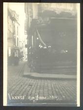 France, Bretagne, Morbihan, VANNES et sa femme, Vintage argentic print 1904