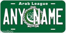 Arab League Flag Novelty Car License Plate