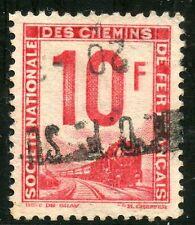 STAMP / TIMBRE DE FRANCE COLIS POSTAUX OBLITERE N° 10