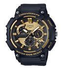 Casio Mens Quartz Chronograph Black Resin Band 53mm Watch MCW200H-9AV