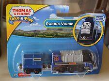 Thomas and Friends Take n Play Racing Vinnie Engine Portable NEW