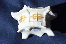 LLadro Daisa Tea Light Holder Chinese Lantern Hand Made In Spain 2008 White Gold