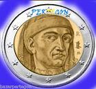 Moneda de euro Italia Gedenkmünzen envio combinado 2 euros conmemorativa Italy