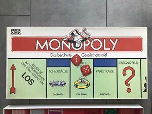 Monopoly Classic alte Ausgabe 1985 DM-Version
