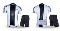 Cycling Bike Short Sleeve Top Shirt Bicycle Sports Jersey Shorts Uniform Outdoor