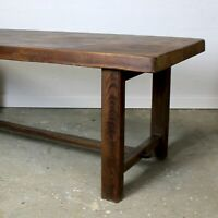 Reclaimed Elm Refectory Dining Table