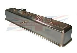 New Polished Finish Alloy Valve Cover for Triumph TR6 and GT6 with Cap