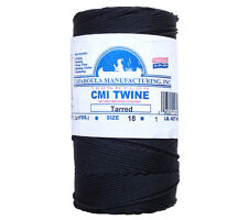Catahoula No 18 Tarred Twisted Bank Line 1 lb Spool 1025 ft Nylon Twine