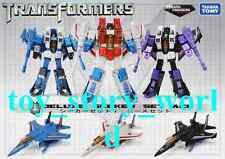 TAKARA Transformers Exclusive G1 Seekers ACE Starscream Skywarp Thundercracker
