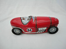 Marks & Spencer Racing Car Sweet Tin Collectors Moving Wheels