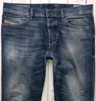 Mens DIESEL Tepphar Jeans W31 L30 Blue Slim Carrot Wash 0827I_STRETCH