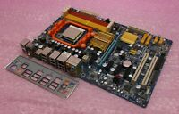 Gigabyte GA-MA770-DS3 Socket AM2 AM2+ DDR2 PCI-E Motherboard, IO and Athlon CPU