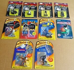 MULTI-LIST OF ERTL/ACTION MASTERS DIE-CAST FIGURES; BATMAN,STAR TREK, ALIEN ETC