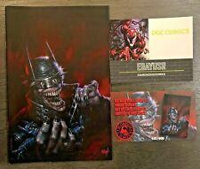 Batman Who Laughs #1 Parrillo Exclusive Virgin Variant w/ COA LTD 500 Print Run