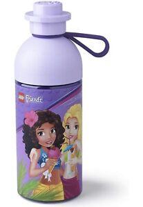 LEGO 40421732 Water Friends Hydration Bottle 17 oz, Transparent Lilac