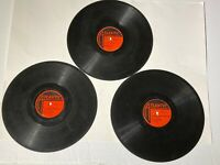 """Ruth Brown w/ Orch. 3 RECORDS Atlantic 78s 1950s ROCK VG+ """"5-10-15 Hours""""+5 more"""