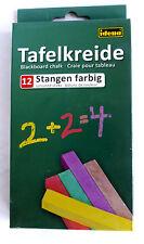 Tafelkreide Schulkreide Kreide 24 farbige Stangen Blackboard chalk