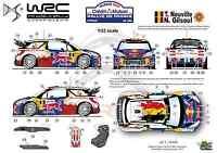 [FFSMC Productions] Decals 1/32 Citroën DS3 WRC Neuville Rallye de France 2012