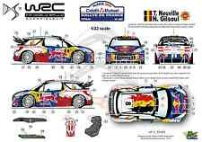 [FFSMC Productions] Decals 1/32 Citroën DS3 WRC Neuville Rallye de France 2012