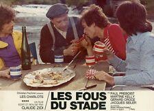 LES CHARLOTS LES FOUS DU STADE 1972 VINTAGE PHOTO ORIGINAL #1