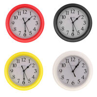 """Quartz """"silent tick"""" Wall Clock- ideal for use in office, home, kitchen 9"""" PICK"""