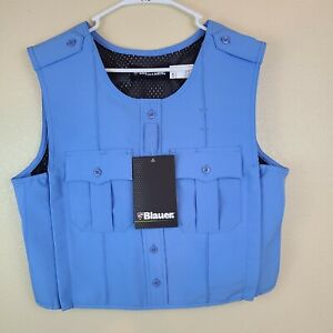 BLAUER ARMORSKIN8370 Polyester  VEST OUTER ARMOR CARRIER Medium BLUE SMALL