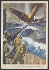 CARTOLINA Militare 1942 Sommergibili NUOVA (F9)