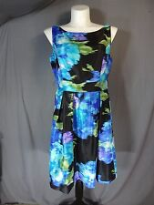 Eliza J sleeveless Fit and Flare Dress w/pockets Plus size 14